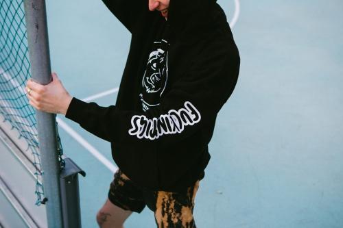 mäsokombinát hoodie doodle pig